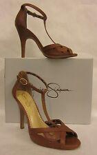 Jessica Simpson Jeraldine Burnt Umber T-strap Sandal - size 10