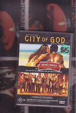 city of god (subtitled gangster film) DvD Region 4