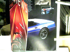 CATALOGUE GAMME GM 1996 CADILLAC BUICK PONTIAC/ CORVETTE/ TRANSSPORT/ FIREBIRD..