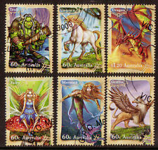 AUSTRALIA 2011 SPECIAL OFFER MYTHICAL CREATURES SET OF 6  CTO