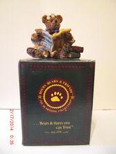 Boyds Bear - Dean Newberger Iii.Bears and Bulls Exclusive Mib