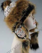 Lana & De Zorro Piel para Invierno mongol Sombrero Ushanka Cazador Sombrero estilo ruso