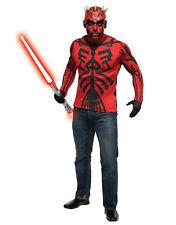 """Darth Maul Mens Star Wars Costume Kit, Standard, torse nu 44"""", Waist 30-34"""", Inseam 33"""""""