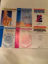 Tenor Sax Patriotic Favorites First Division Band Course Yamaha Band Student