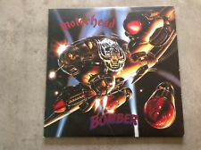 MOTÖRHEAD -BOMBER- DOUBLE -GATEFOLD-LP-PURPLE-SPLATTER-COLOR -REISSUE-VINYL-MINT