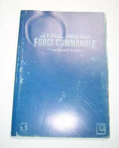 LucasArts Star Wars Force Commander PC Game Original Printed Field Combat Manual