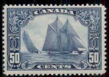 CANADA #158, 50¢ Bluenose, og, VLH, VF, Scott $225.00
