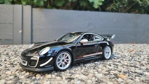 Maisto Porsche 911 997 Gt3 RS Black 1:18 Diecast Model Car Brand New