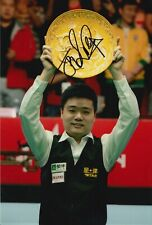 Ding Junhui Hand Signed 12x8 Photo - Snooker Autograph 3.