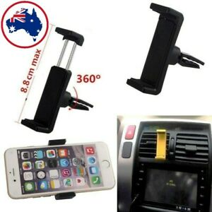 New 360°Rotating Car Air Vent Mount Cradle Holder Universal For Mobile Phone GPS