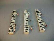 (Lot of 3) Burndy Aviation Terminal Strips SYH14S3 - Used - As Is