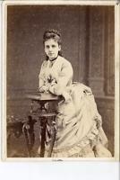Disdéri, For Mlle de Nadaillac from Julia R. Necoberry  Vintage albumen print. C