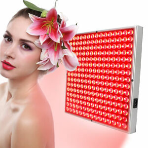 225 LED Red Light Therapy Panel Pain Relief Light Physiotherapy Instrument BBY