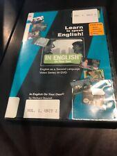 Learn to Speak English DVD Vol. 1, Unit 2 Richard Bourell