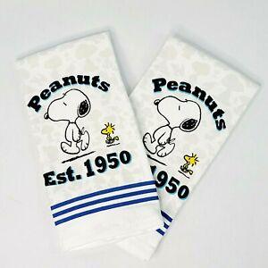 Peanuts Snoopy Woodstock EST.1950 Kitchen Towel Set Brand New.