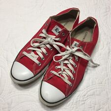 Converse Chuck Taylor All Star Product Red Low Top Canvas Sneakers   Men's 12