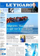 Le Figaro 28.7.2017 n°22695***MACRON & MIGRANTS*MURS***LUXE en FORME**ROTHSCHILD
