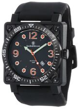 Smith & Wesson Altitude Watch Black Dial Rubber Band SWW5800-BLK Water Resistant