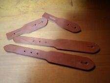 Leather Blanks - Spur Straps 3 sets