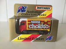 MATCHBOX - DELIVERY TRUCK - NESTLE - SMALL SCALE TOY - RARE BOXED - 1981 - MB72