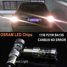 2xFor Skoda Octavia Yeti1156 Canbus White OSRAM  LED Bulb Backup Reverse Light