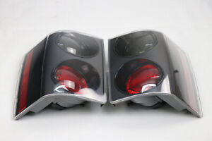 2PCS BLK L&R Tail Light For Land Rover Range Rover Vogue 2002-2009 MO