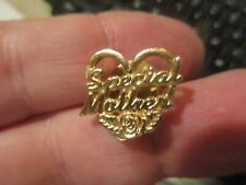 Brass Heart Pin - Special Mother