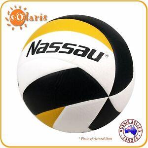 Nassau PREMIUM 3000 Volleyball 12 Panels Spiral Laminated Official Size 5 Match