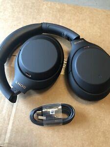 Sony WH1000XM4  Wireless Bluetooth Noise Canceling Overhead Headphones Black