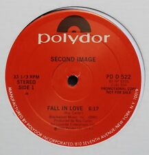 """Second Image Polydor DJ """"Fall in Love"""" 12"""" Single 1982"""