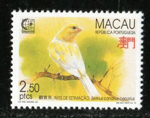 1995 Macao SC# 786, 787, 788 - Birds - 3 Stamps - M-NH