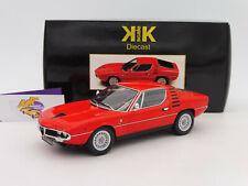 """KK Scale 180381 # Alfa Romeo Montreal Baujahr 1970 in """" rot """" 1:18 NEUHEIT !!"""
