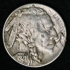 1921-S Buffalo Nickel CHOICE XF FREE SHIPPING E297 UNTX