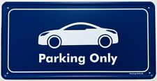 Parking Only-PEUGEOT RCZ-aluminium bouclier