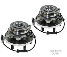 2 New Front Wheel Hub Bearing Assemblies Fits 4WD Pathfinder Xterra Frontier 4WD
