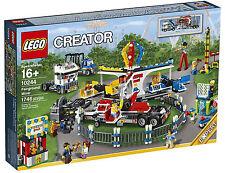 LEGO COLLEZIONISTI CREATOR 10244 FAIRGROUND MIXER - GIOSTRA DEL LUNA PARK NUOVO