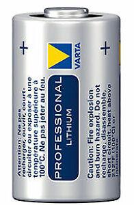 VARTA CR2 3V 880mAh Lithium Knopfzelle 3V Batterie - 2 Stück