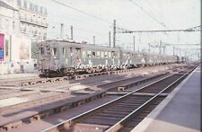 C1544 - Dia slide 35mm original: chemin de fer France, SNCF autorail 4101, 1967