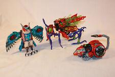 Transformers Beat Wars Transmetals Lot Scourge Rattrap Prowl !!!!!
