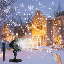Christmas Snowflake Projector Lights with Wireless Remote Parties, Weddings