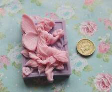 Beautiful Handmade Flower Fairy Soap Stunning detail! Choose colour & scent