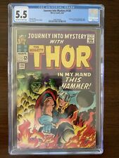 Journey Into Mystery #120 CGC 5.5 (Marvel 1965) Avengers & Absorbing Man cameo