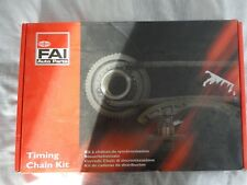 NEW TCK103 FAI AUTOPARTS ENGINE TIMING CHAIN KIT OE REPLACEMENT GM 2.0/2.2TD 16V