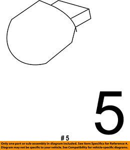 CHRYSLER OEM-Turn Signal Light Bulb L0007444NA