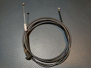 Used OEM TOYOTA SCION YARIS xD HOOD LOCK CONTROL RELEASE CABLE 53630-52110