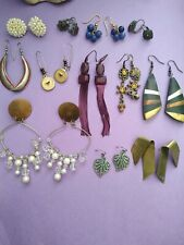 Vintage to modern earrings lot