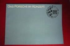 Porsche 911  T E S  F Modell Haupt Prospekt  69 / 70 / 71