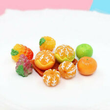 5pcs 1:12 Dollhouse Miniature Food Accessory Fruit Grape Orange Raspberry Egg