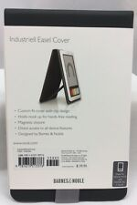 NOOK BOOK COVER 1st Edition Wi-fi + 3G Industriell Easel Cover Charcoal Barnes