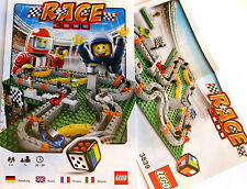 Lego Instructions - Race 3000 Game Build Ins and Rules - 3839 - NOT GAME